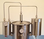 Destilador para esencias y aguardientes