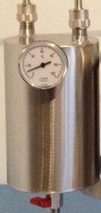 alambique condensador